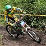 Gran participación en el inicio de la Copa Andina de Downhill
